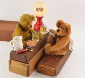 Bears Having A Beer!
